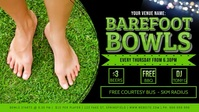 Barefoot Bowls Facebook Video Event Cover Facebook-covervideo (16:9) template