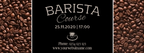 Barista coffee workshop course Template insta