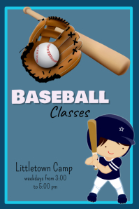 what to say in a cover letter 50 customizable design templates for baseball camp 25593 | baseball classes 25593dca42f4bf7739947709b92d4850