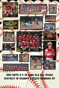 2011 DATC 9 & 10 Year Old District 10 Champs & State Runners Up