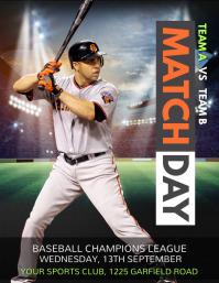 baseball flyer, baseball game, baseball