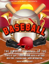 softball flyer template