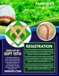 kids children baseball game match flyer template similar design templates
