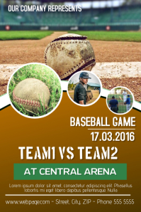 customize 320 baseball poster templates postermywall