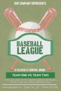 290 customizable design templates for baseball flyer postermywall