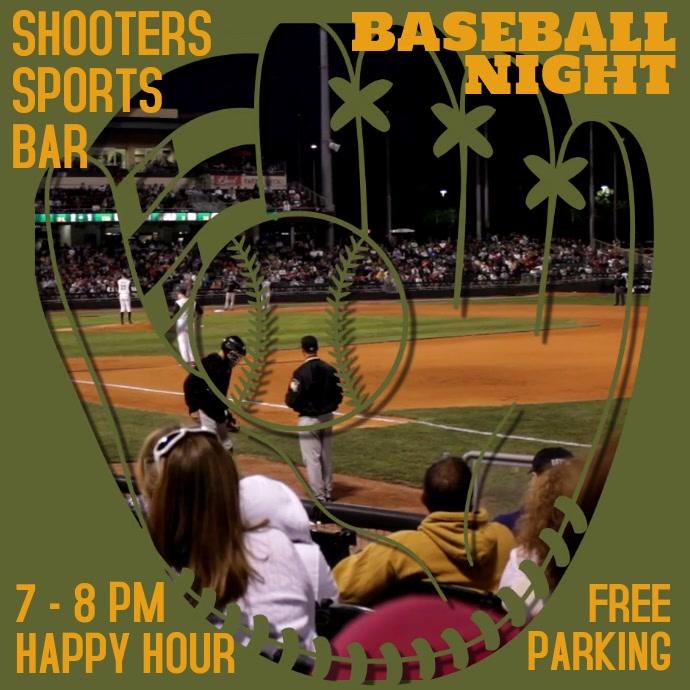 Baseball Night Bar Promo Video