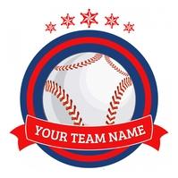 Baseball poster Logótipo template