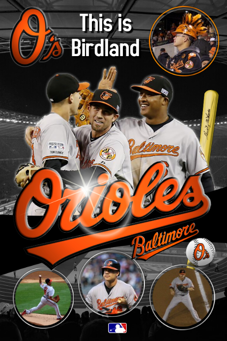 baseball poster template postermywall