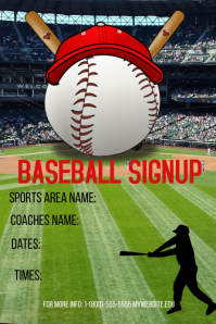 Baseball Signup Template
