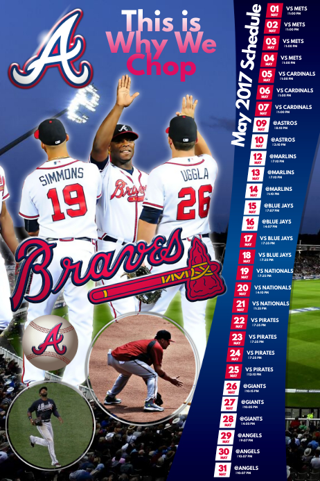 Baseball team Poster