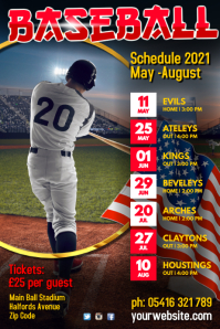 Baseball Team Schedule