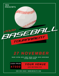 BASEBALL tournament EVENT FLYER TEMPLATE