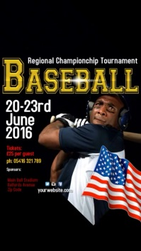 Baseball Tournament Template Instagram