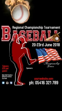 Baseball Tournament Instagram Template