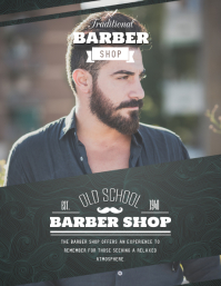 Basic Barber Shop Advert