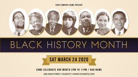 Basic Black History Month Digital Display Image
