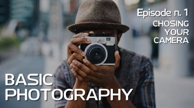 Basic photography youtube thumbnail