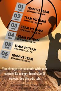 Basketball Calendar