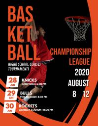 Basketball Championship Poster