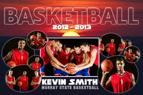 Basketball Collage Template