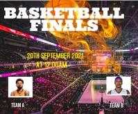 Basketball 中型广告 template
