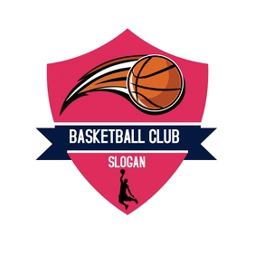 BASKETBALL Logotipo template