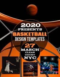 BASKETBALL EVENT FLYER TEMPLATE