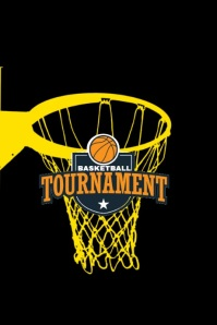 Basketball Event Premium Video Template Affiche