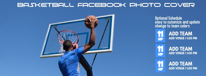 Basketball Facebook Cover Photo