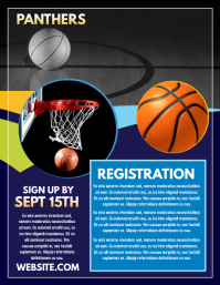Customizable Design Templates for Basketball Flyer | PosterMyWall