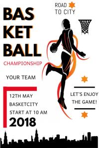 basketball camp brochure template - 50 customizable design templates for basketball camp