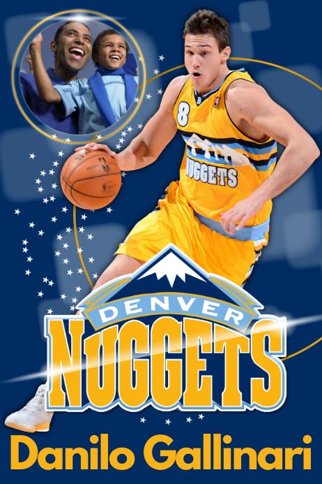 Basketball Poster Template Póster