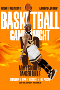 Basketball Game Night Flyer