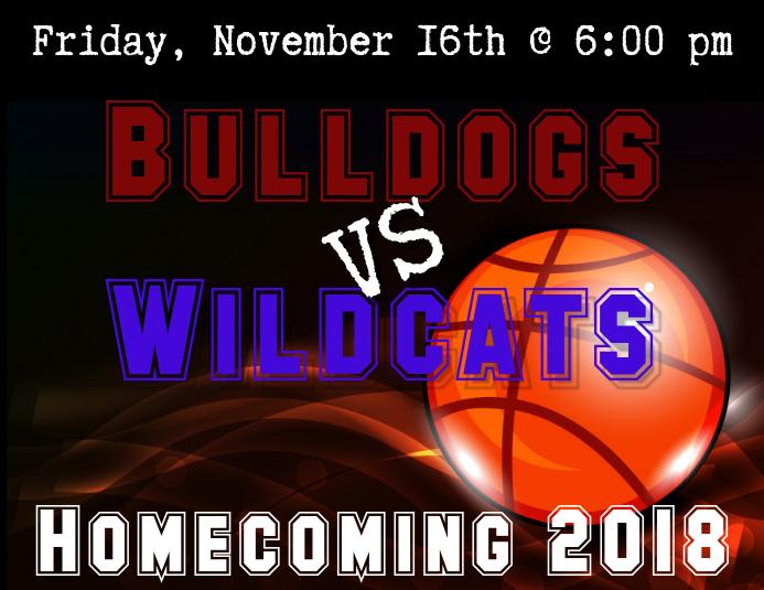 Basketball Homecoming Flyer