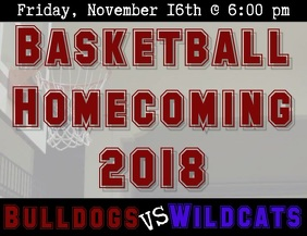 Basketball Homecoming Video