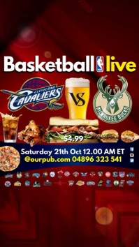 Basketball Live in Pub