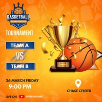Basketball Match Schedule Iphosti le-Instagram template