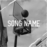 basketball Mixtape/Album Cover Art Template Okładka albumu