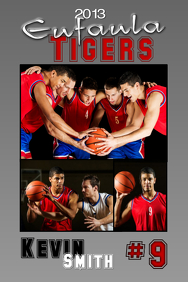 Basketball Poster Template