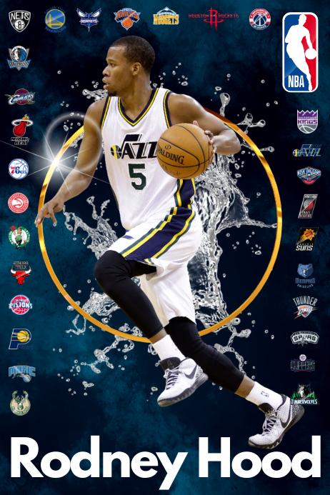 Basketball Player Poster