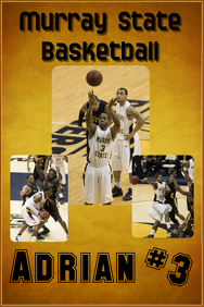 Basketball Poster - Murray State