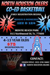 BASKETBALL REGISTRATION INFO