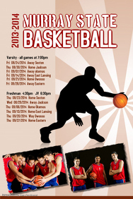 Basketball Sports Team Poster Template