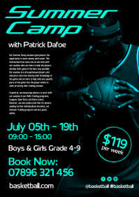 Basketball Summer Camp Flyer