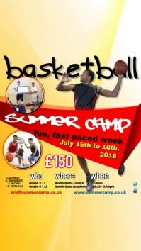 Basketball Summer Camp Video Template