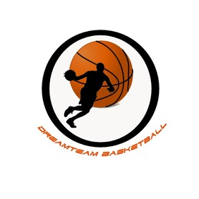 Basketball team logo template