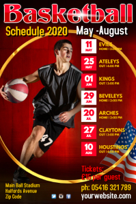 Basketball Team Schedule