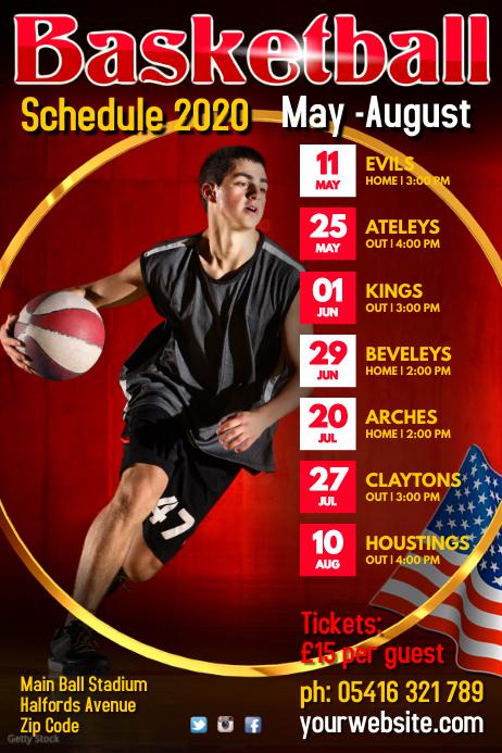 Basketball Team Schedule
