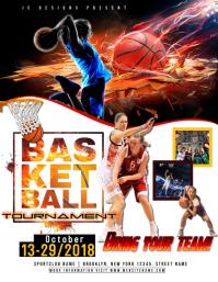 490 Customizable Design Templates For Basketball Flyer