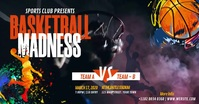 Basketball Tournament Isithombe Esabiwe ku-Facebook template